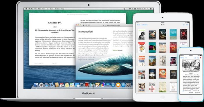 iBooks Mac iPad iPod