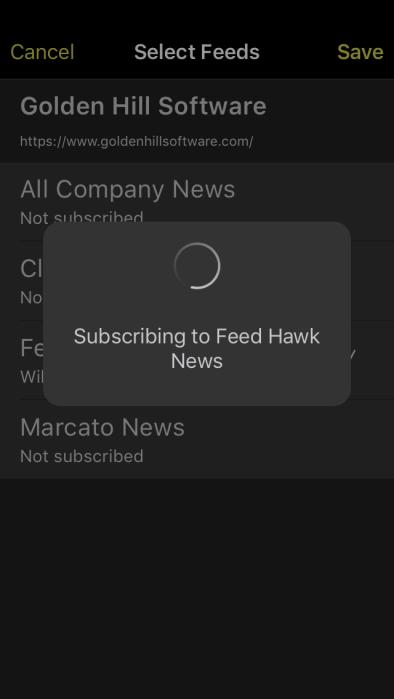 3 - Subscribing