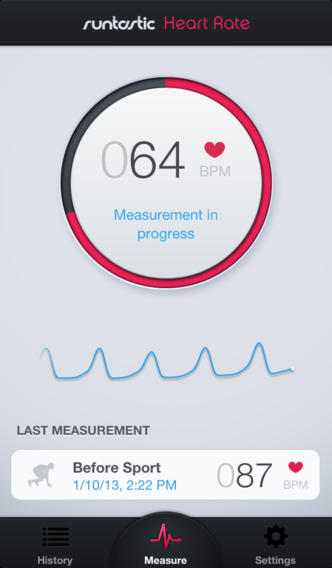 Jealous of S5 heart rate monitor? Your iPhone can already