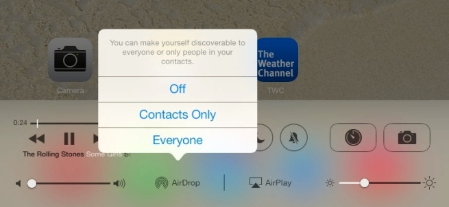 how to use airdrop from mac to iphone 5
