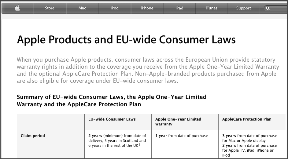 Apple-United-Kingdom-Legal-Apple-Products-and-EU-wide-Consumer-Laws