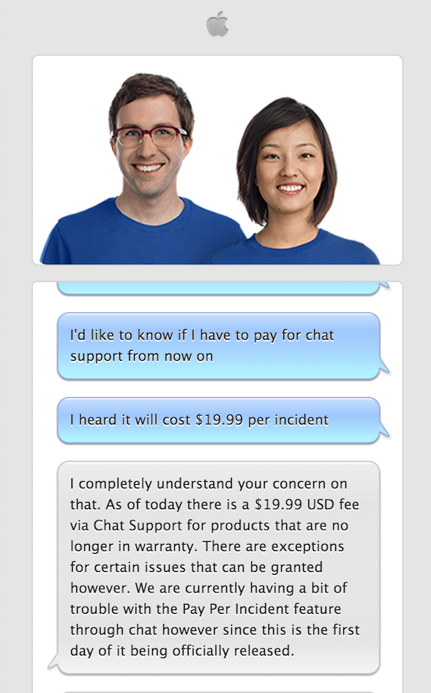 AppleCare-support
