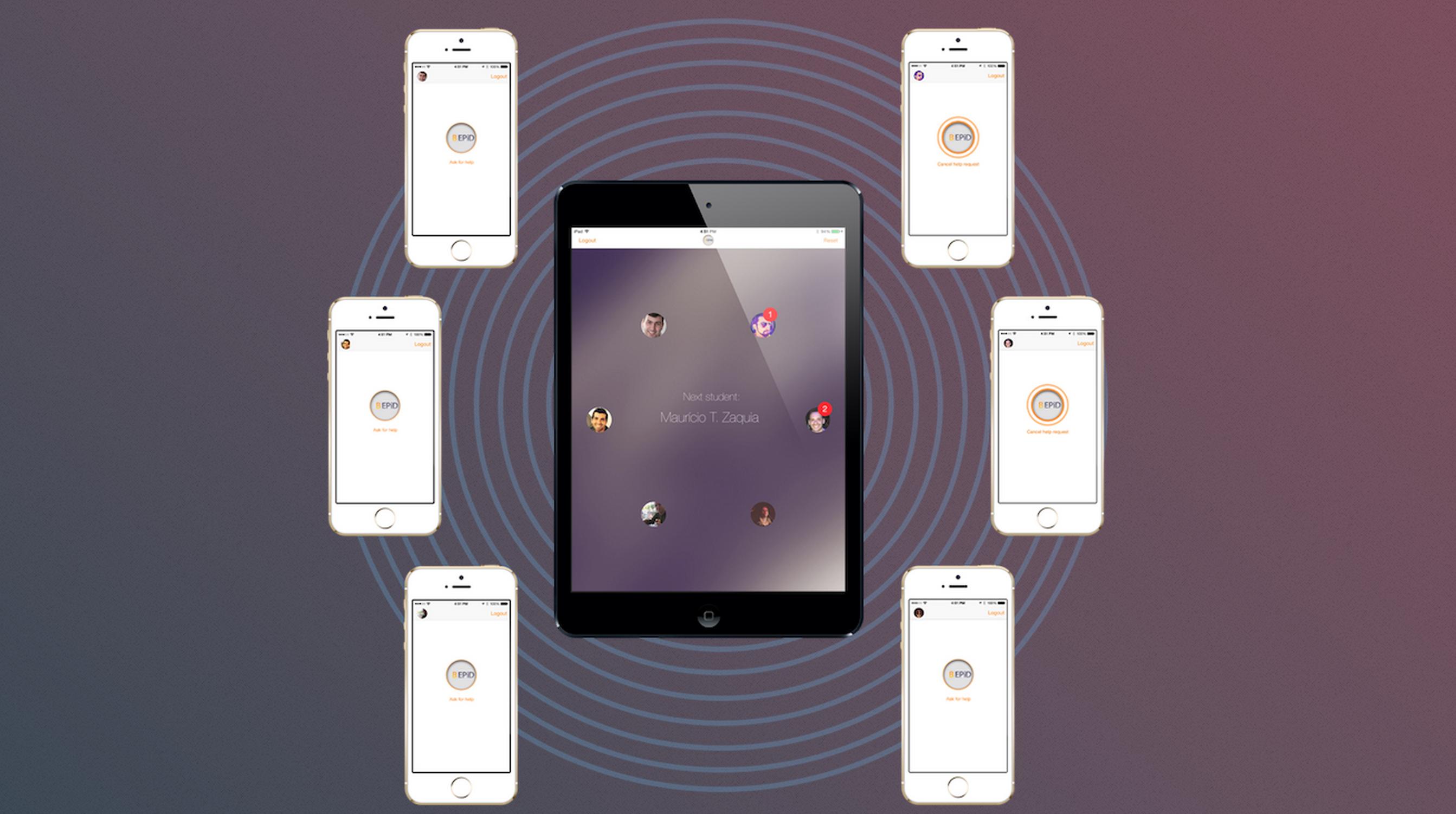 BeHere-app