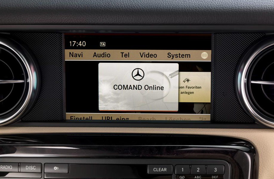 The less-than-perfect Mercedes COMAND interface