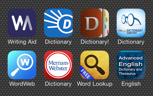 dictionary-app-icons
