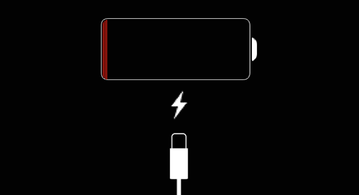 iOS 7 battery charging dead