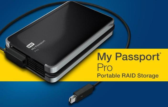 WD PORTABLE DUAL-DRIVE