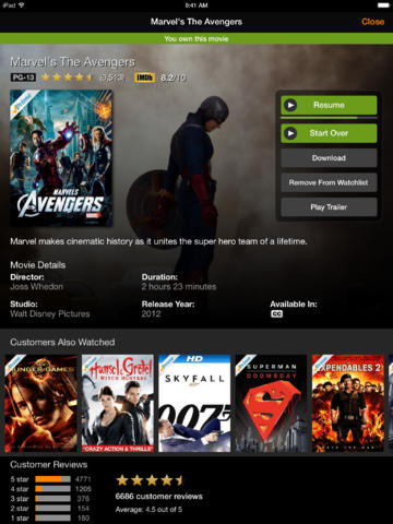 Amazon updates Instant Video iOS app with iOS 7 inspired