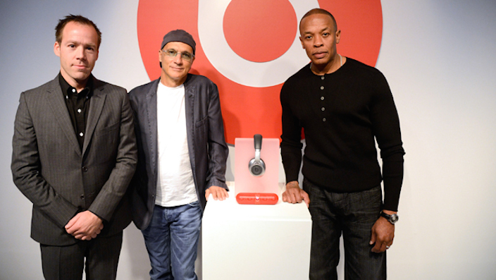 Dr. Dre, Jimmy Iovine And Luke Wood Launch The Beats By Dr. Dre Pill At The Beats Store In Soho, NY