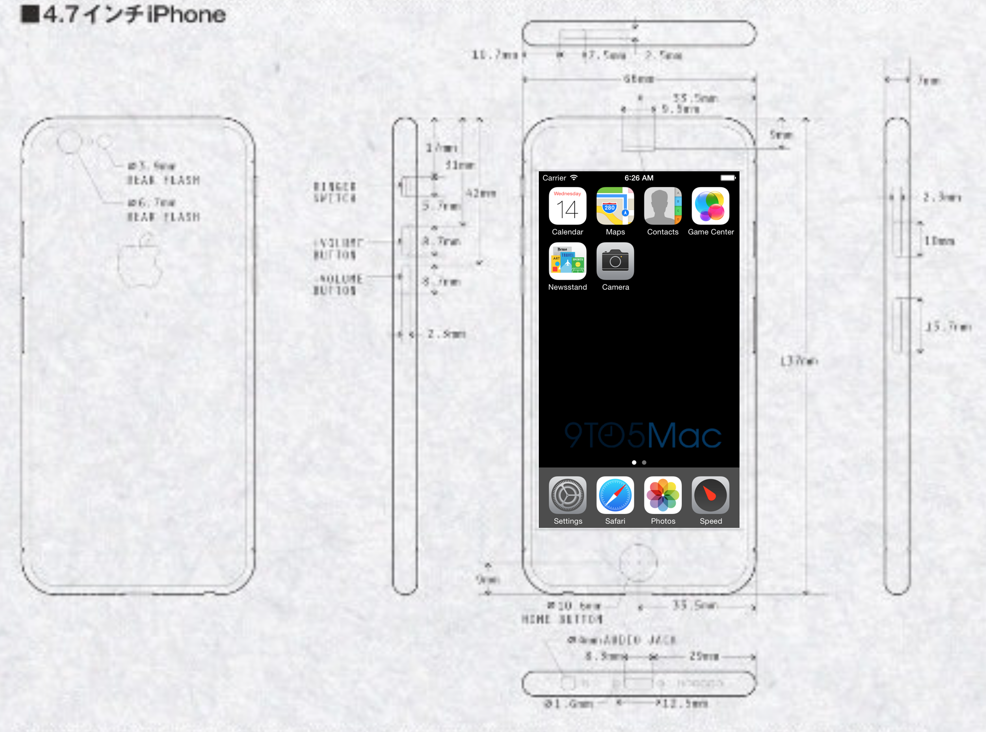 iphone 6 with larger sharper 1704 x 960 resolution screen in testing 9to5mac