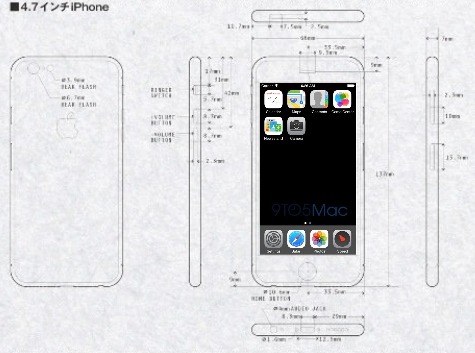 iPhoneSchematicsScale