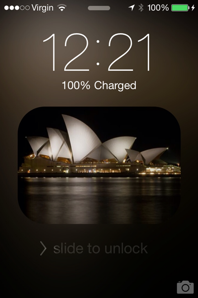 Mini Review Lockscreen Wallpaper Designer The Simple IPhone App