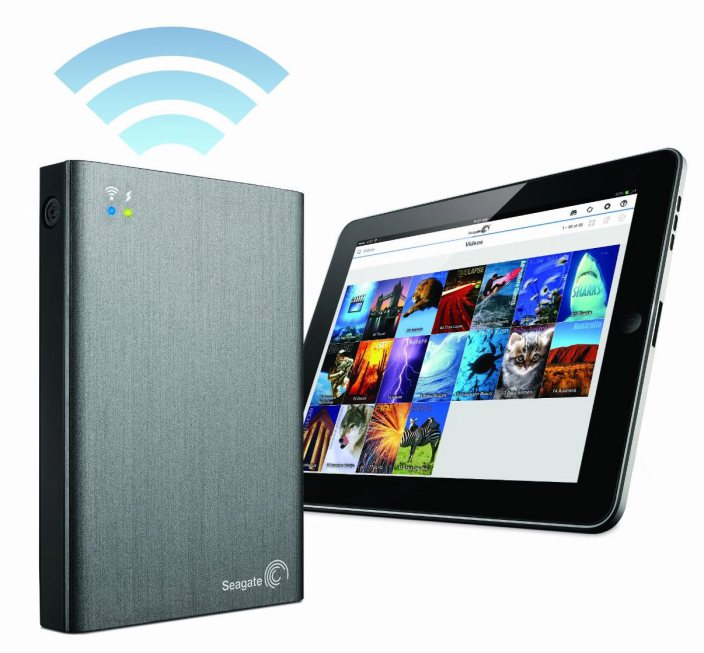 Seagate Wireless 1tb Wifi Streaming