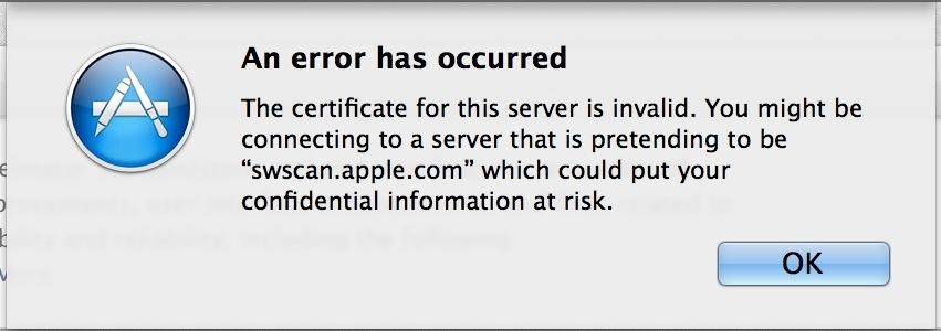 Server-cert-error