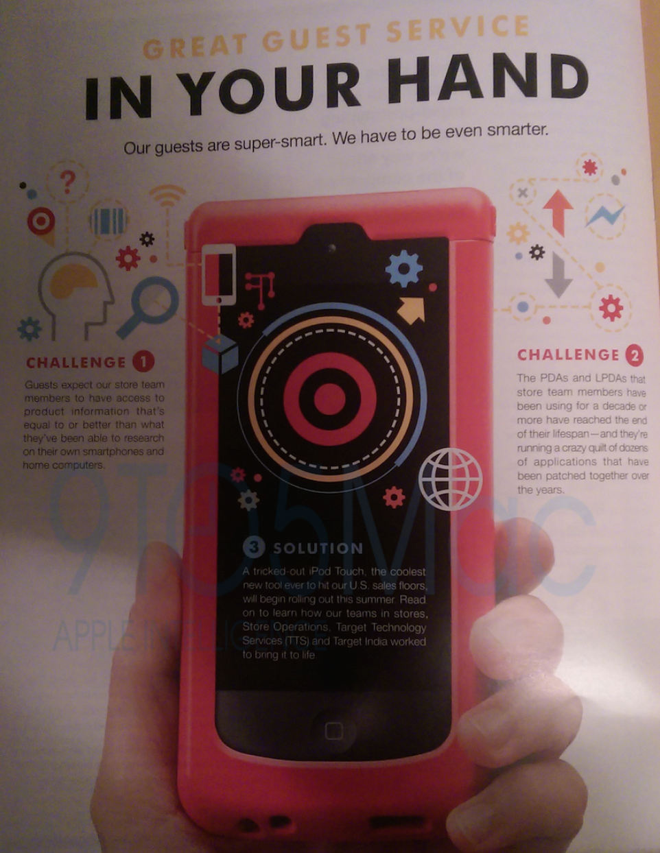 Target replacing employee PDAs with iPod touch this summer