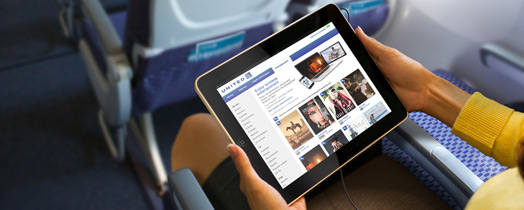 United Airlines updates iOS app with in-flight movie and TV
