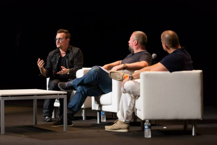 Bono, Shane Smith, and Jony Ive at Cannes Lions Festival