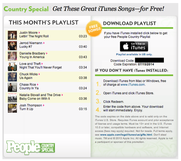 country-music-free-itunes-9to5toys