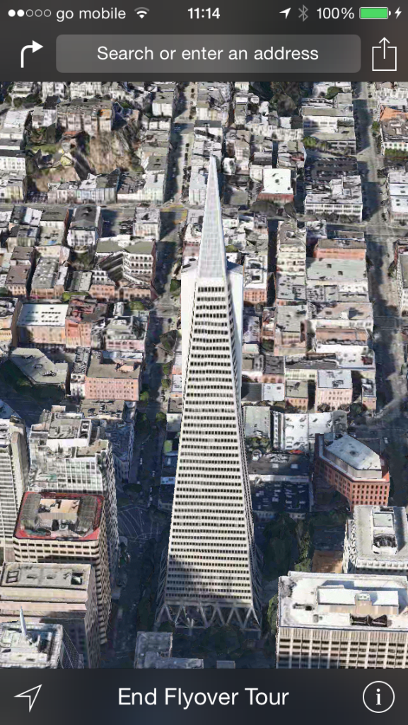 Flyover City Tours discovered in iOS 8 and Yosemite Maps UI, here's how to try it out