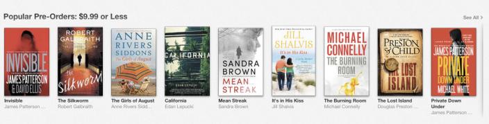 iBooks promotion