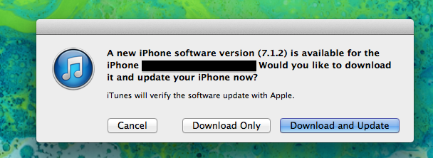 Apple Releases IOS 7.1.2 With IBeacon, Mail Attachment