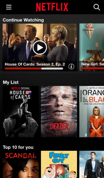Netflix updates its Apple TV and iOS apps with design refresh