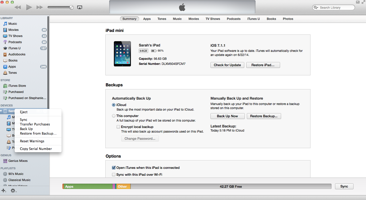 Getting Ready for iOS 8: How to backup your device and set