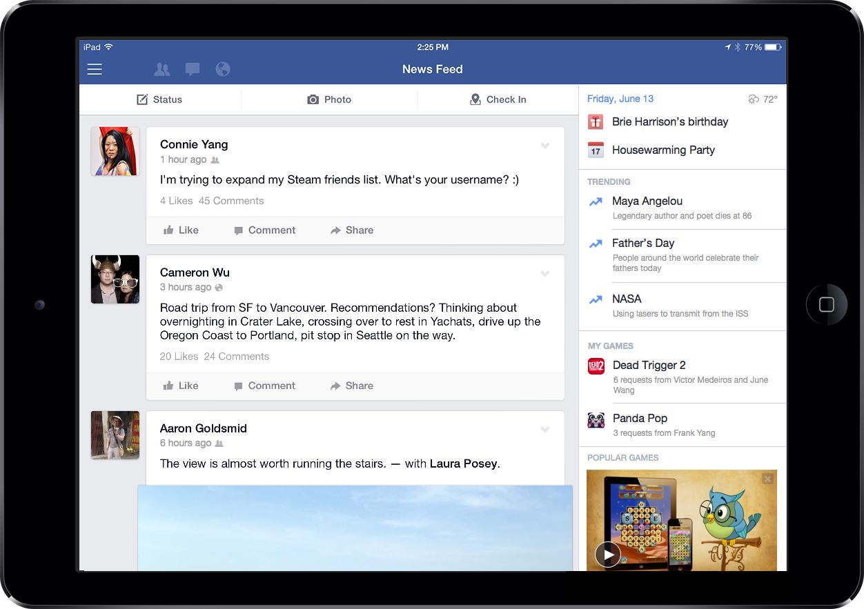 updated iPad screenshot