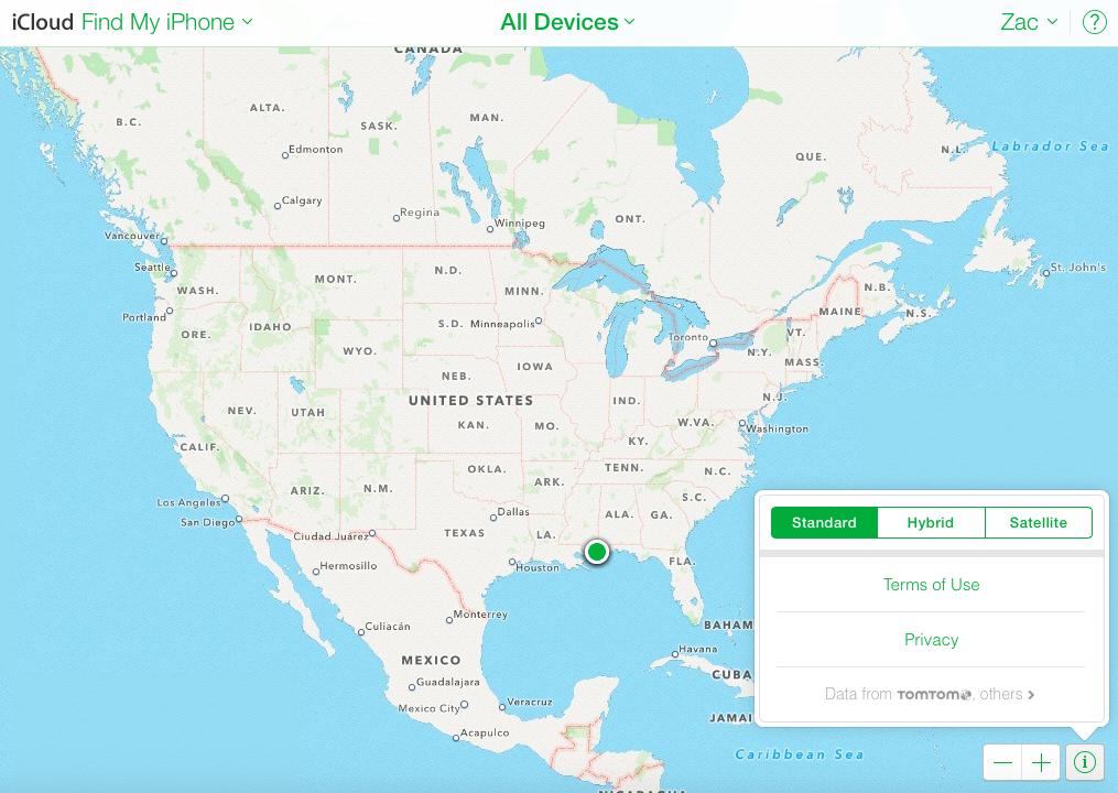 Bye Google Maps: Apple brings its Maps to the web for Find ... on kokomo island caribbean, pennsylvania caribbean, craigslist caribbean, bing map caribbean, cuba caribbean, mapquest caribbean, detailed map of the caribbean, world map caribbean, tripadvisor caribbean, full map of caribbean, windjammer cruises caribbean, crown weather caribbean, map of south caribbean, map of usa and caribbean, printable map caribbean, map of the united states and caribbean, google map puerto rico, florida caribbean, physical map of the caribbean, google earth satellite cuba,