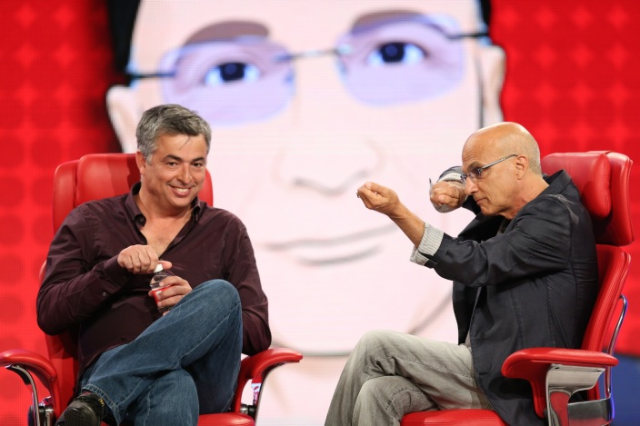 Eddy Cue and Jimmy Iovine at Code Conference via Re/code