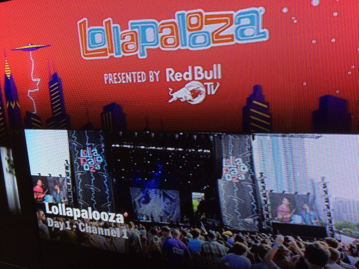 Red Bull Apple TV Lollapalooza