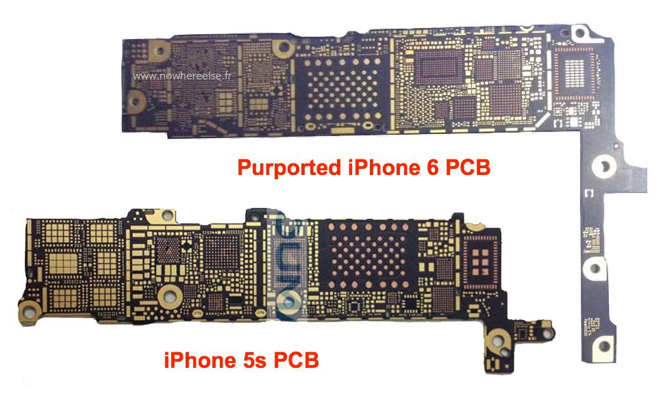 iPhone-6-vs-iPhone-5s-PCB
