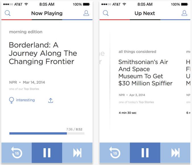 NPR-One-iPhone-app
