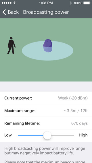 Estimote introduces iBeacon power management tools for