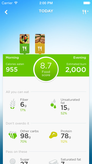 UP-Food-tracking-app
