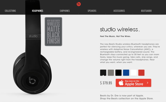 Beats Web Store Apple Online Store
