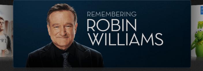 Robin Williams iTunes