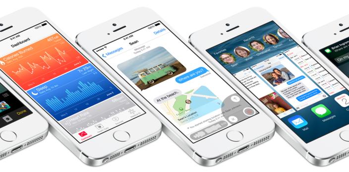 iOS 8 hero