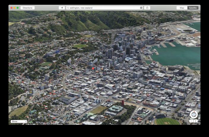 Flyover Wellington New Zealand