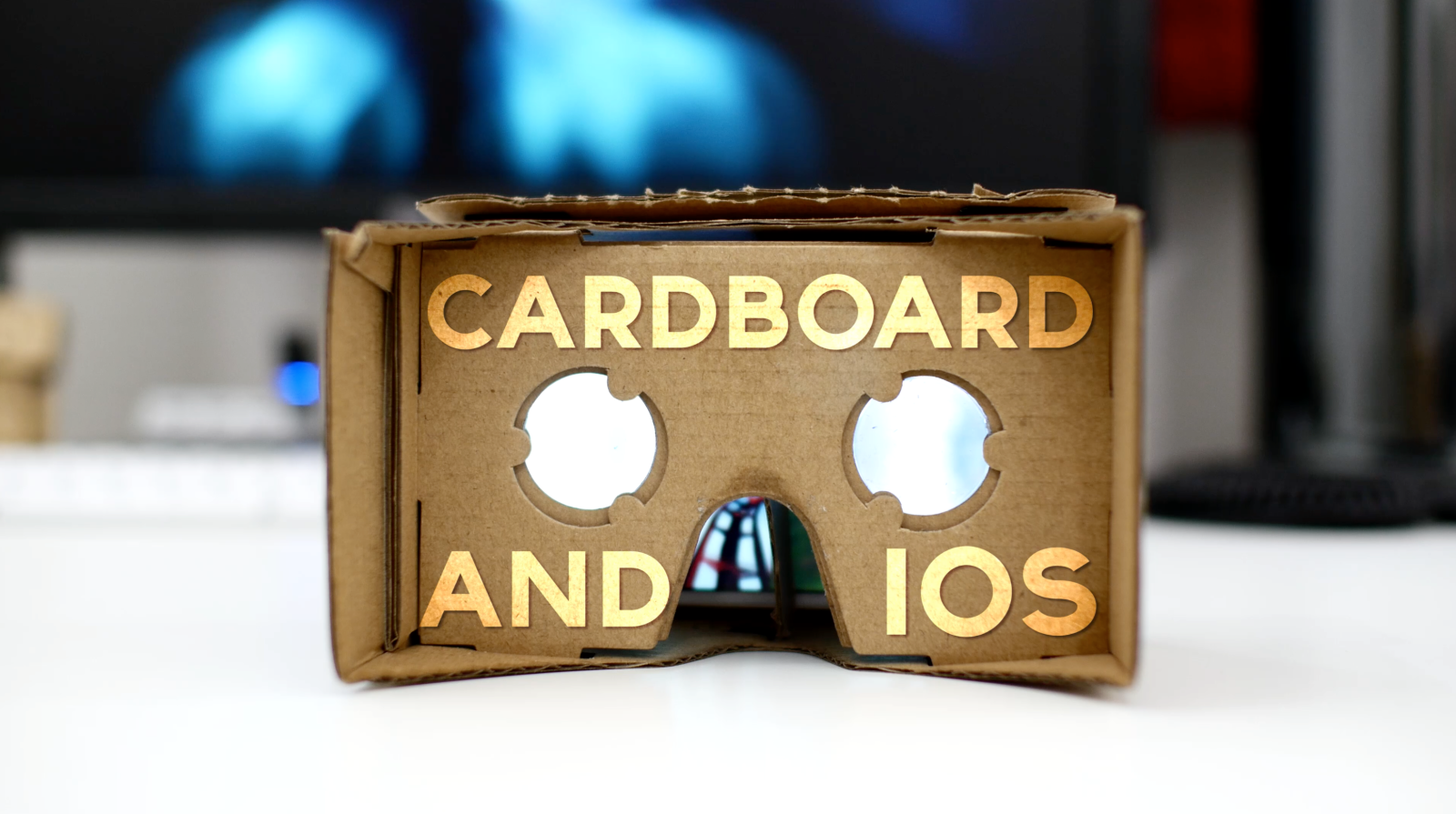 Makeshift Apple VR headset: How to use Google Cardboard with