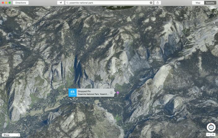 Yosemite Flyover