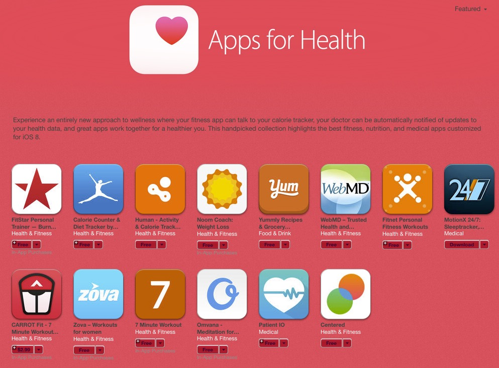 Apps-for-health