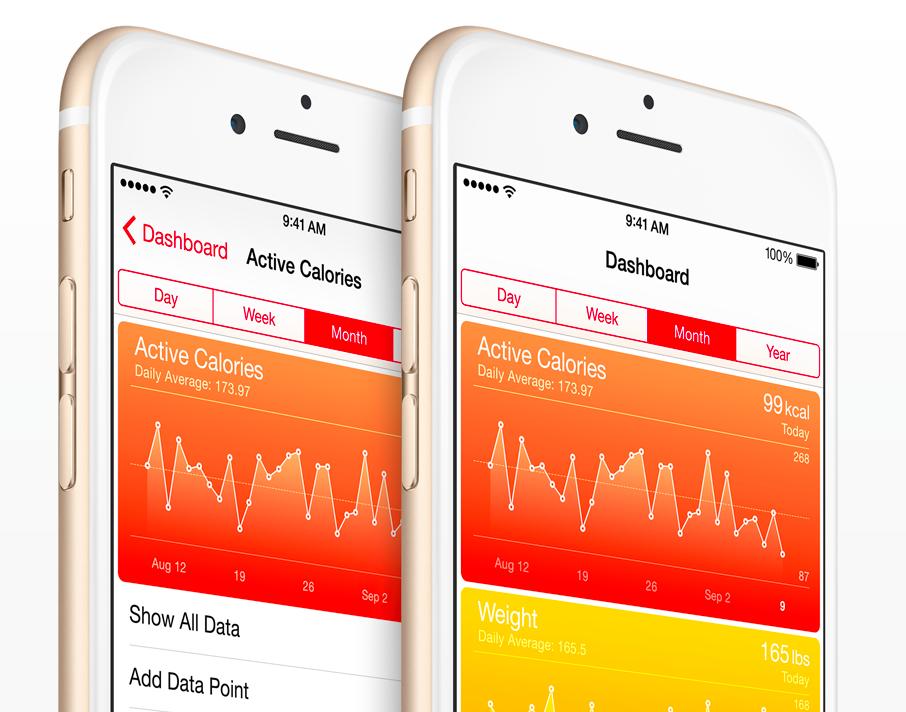 Health iPhone 6 narrow