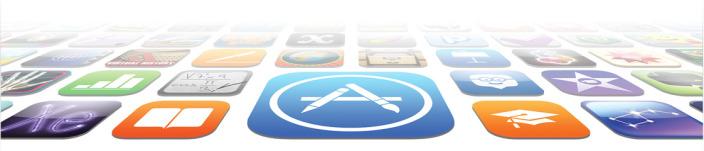 app store hero flat modern