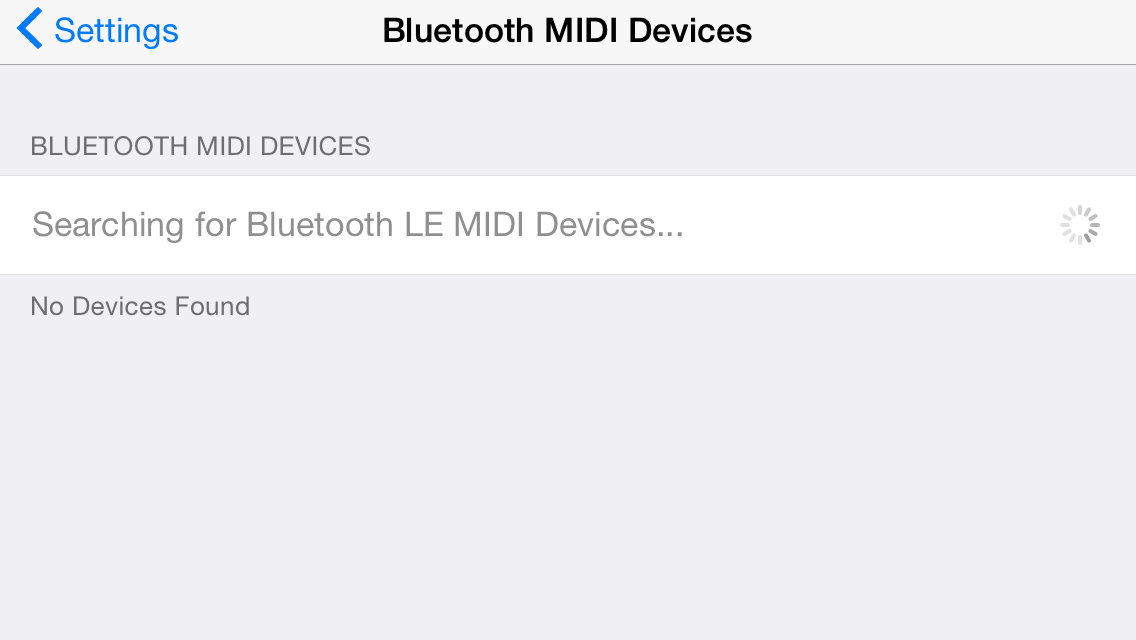 GarageBand's iOS 8 update adds MIDI over Bluetooth for