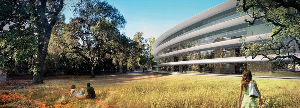 Rendering-Apple-spaceship-campus