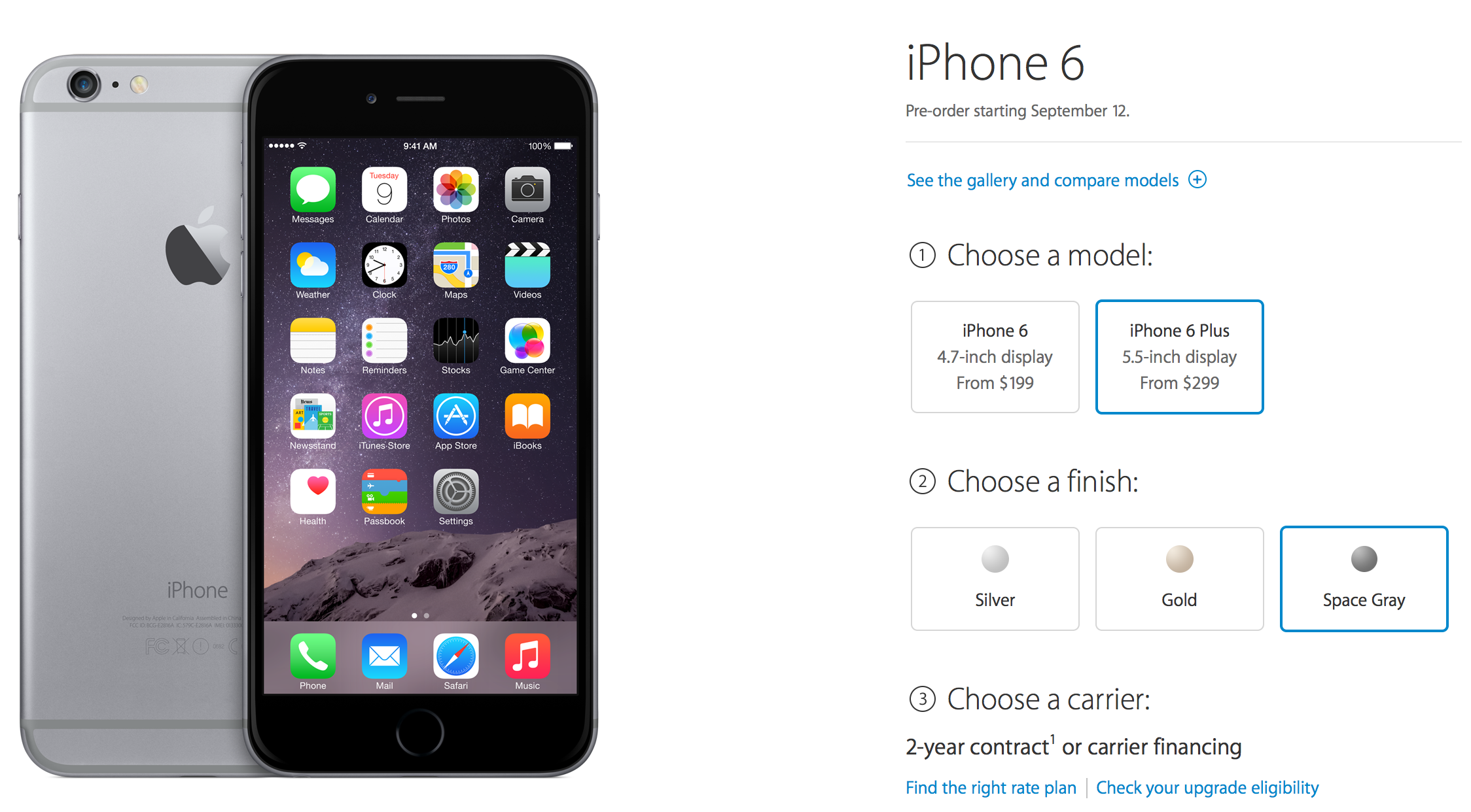 Apple to offer in,store pickup option for iPhone 6 preorders
