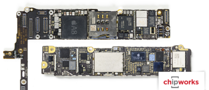 Chipworks A8 TSMC iPhone 6