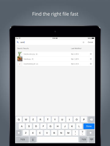 Google Drive for iOS updated w/ syncing speed boost & upload