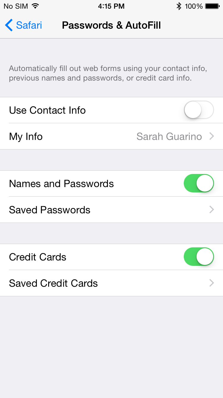 ios 8 how to use camera to enter in credit card info 9to5mac